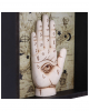 Chiromancy Wahrsage-Hand Wandbild 20cm
