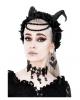 Dunkler Gothic Engel mit Flügel Ohrringe
