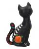 Aufrecht Sitzende Sugar Skull Katze