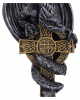Dragon With Celtic Cross Christmas Decoration 11cm