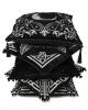 Blair Gray Kissenbezug mit Pentagramm 45x45cm