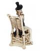 Skelett Hochzeitspaar In guten wie in schlechten Zeiten