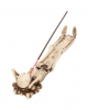 Knochenskelett Räucherstäbchenhalter 27cm