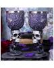 Death Desire Skull Goblet - Set Of 2