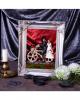 Skeleton Bride And Groom On Bicycle 14,5cm