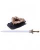 Knochenhand & Schwert Stifthalter 11,5cm