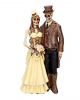 Steampunk Skeleton Wedding Couple