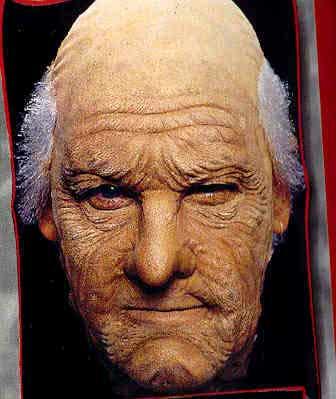 alter opa gesichts latex maske alte mann maske zum aufkleben karneval universe. Black Bedroom Furniture Sets. Home Design Ideas
