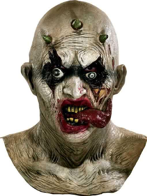 clown zombie maske horror masken g nstig kaufen. Black Bedroom Furniture Sets. Home Design Ideas