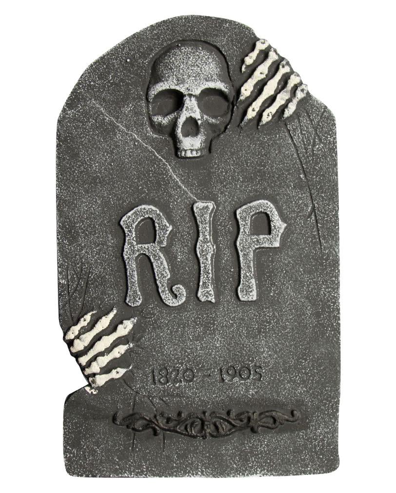 grabstein sch del mit skelett h nden halloween deko g nstig kaufen karneval universe. Black Bedroom Furniture Sets. Home Design Ideas