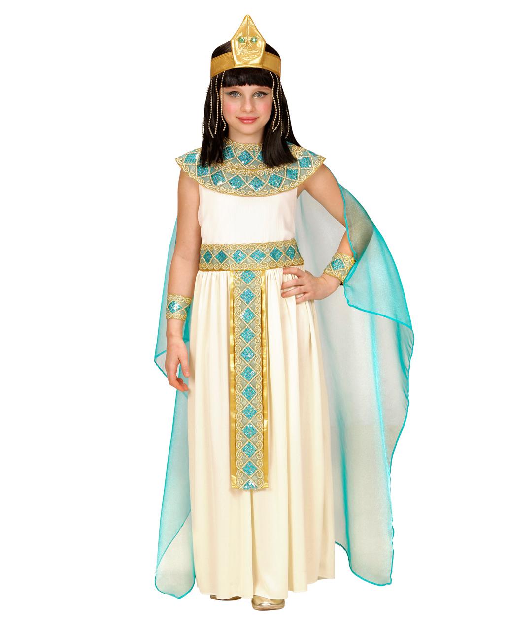 4 tlg cleopatra kinderkost m deluxe kaufen karneval universe. Black Bedroom Furniture Sets. Home Design Ideas
