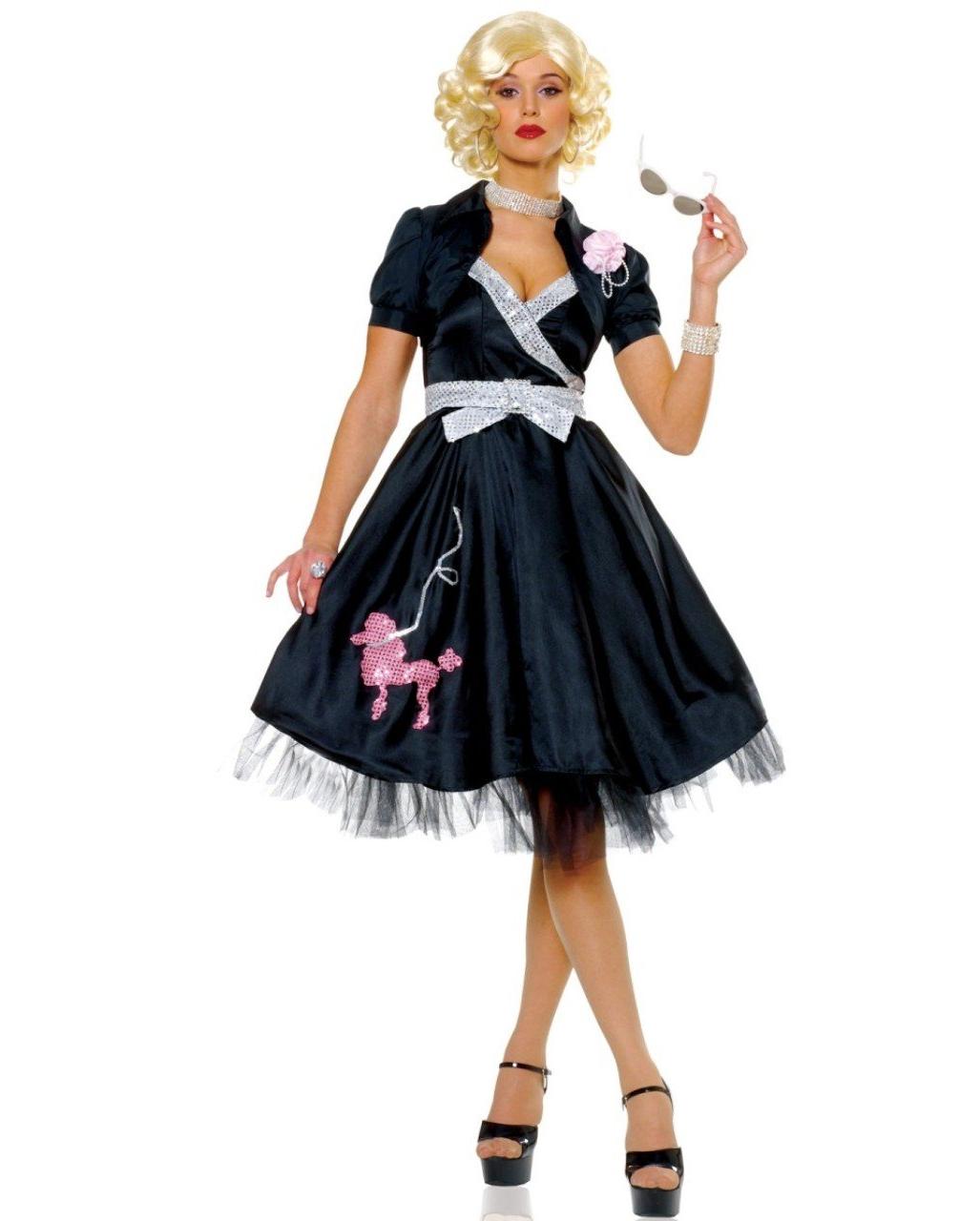 1869578f6b 50er Jahre Diva Kostüm | 50er Jahre Mottoparty | Karneval Universe