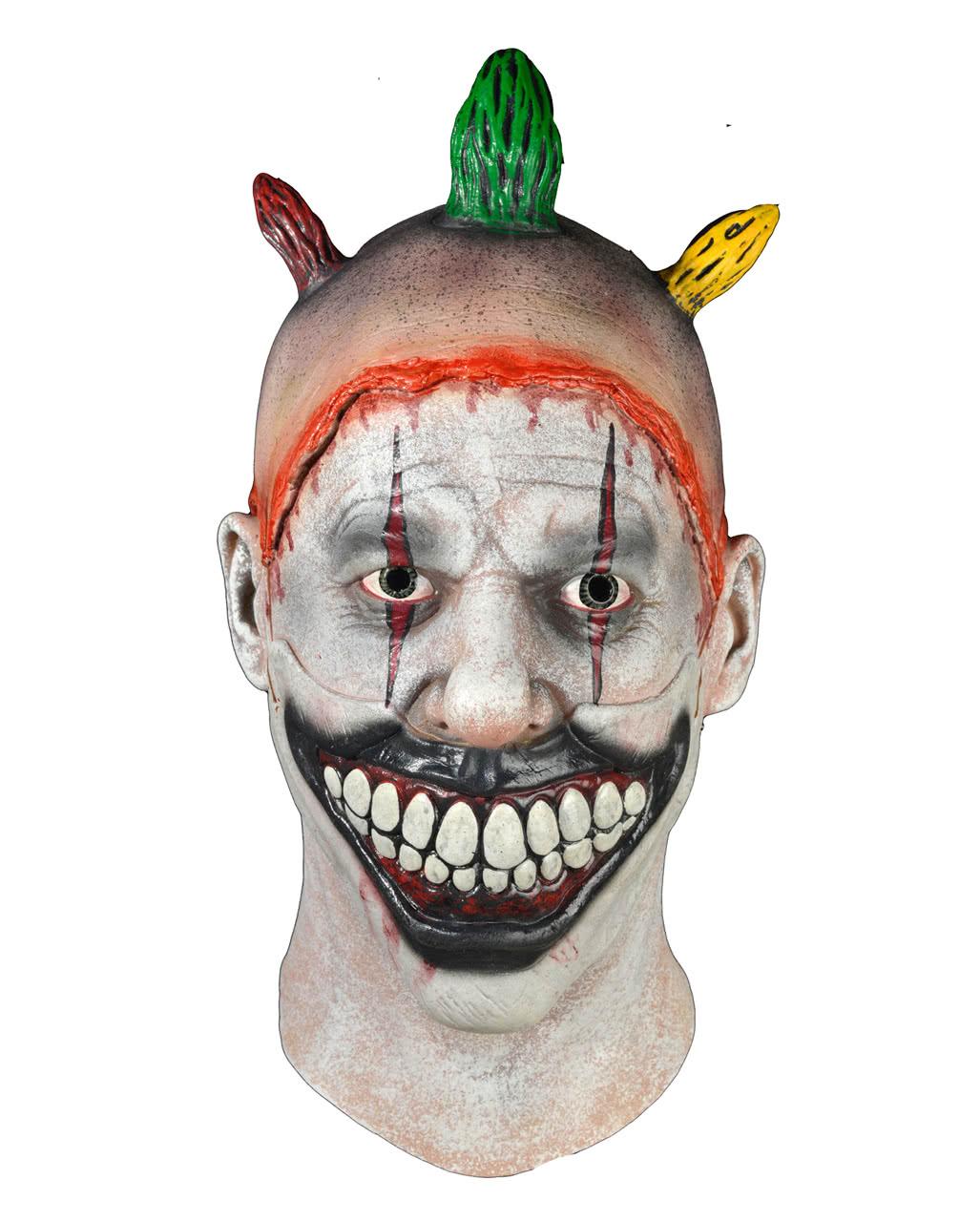 american horror story twisty der clown maske horror clown maske karneval universe. Black Bedroom Furniture Sets. Home Design Ideas