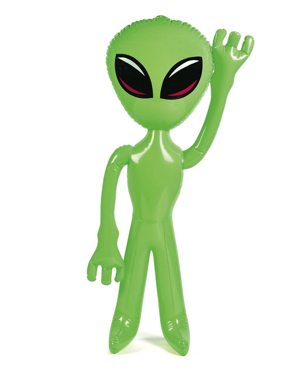 Aufblasbares alien scifi dekoration karneval universe for Karneval dekoration