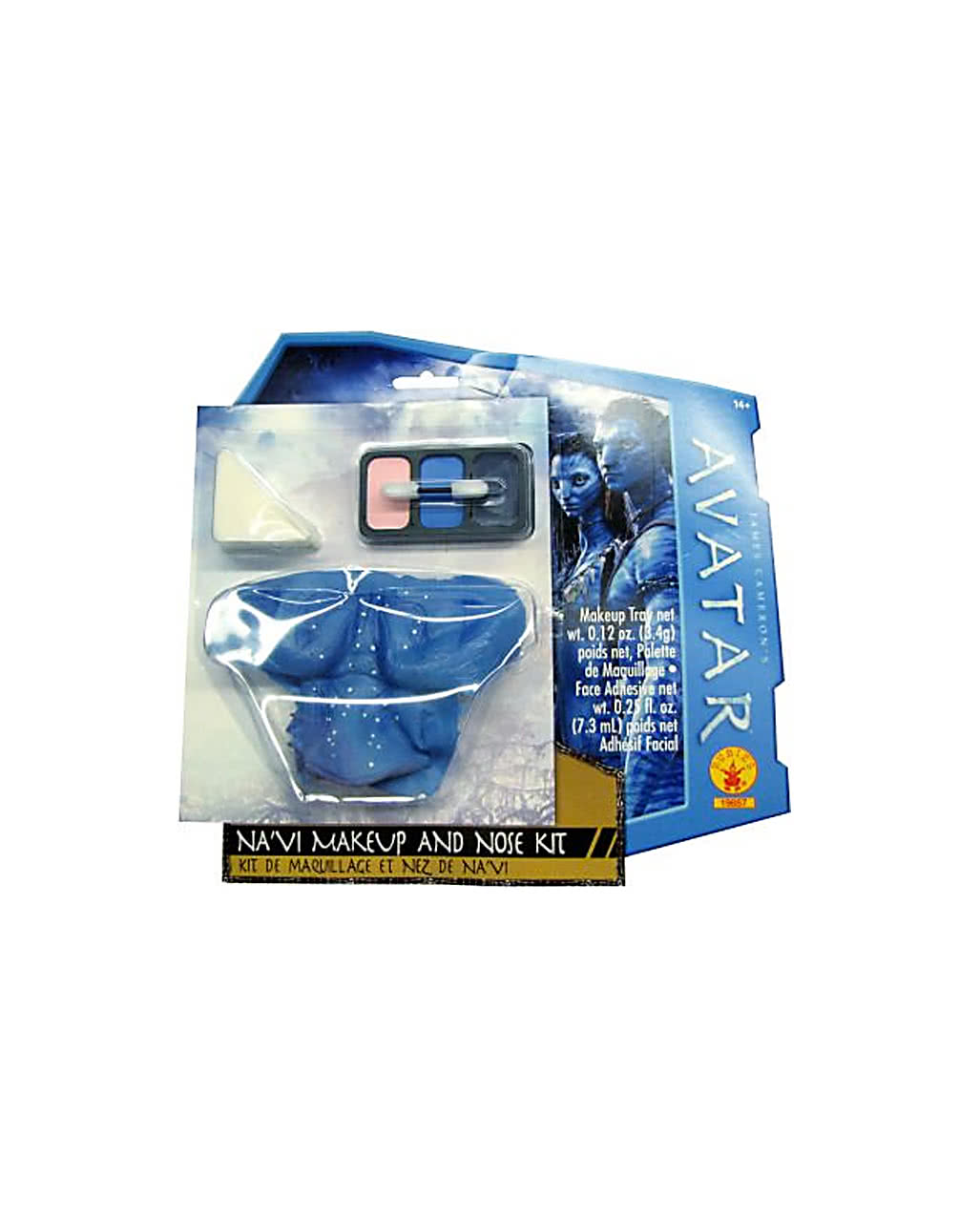 Avatar Na Vi Make Up Set Mit Nase Für Halloween