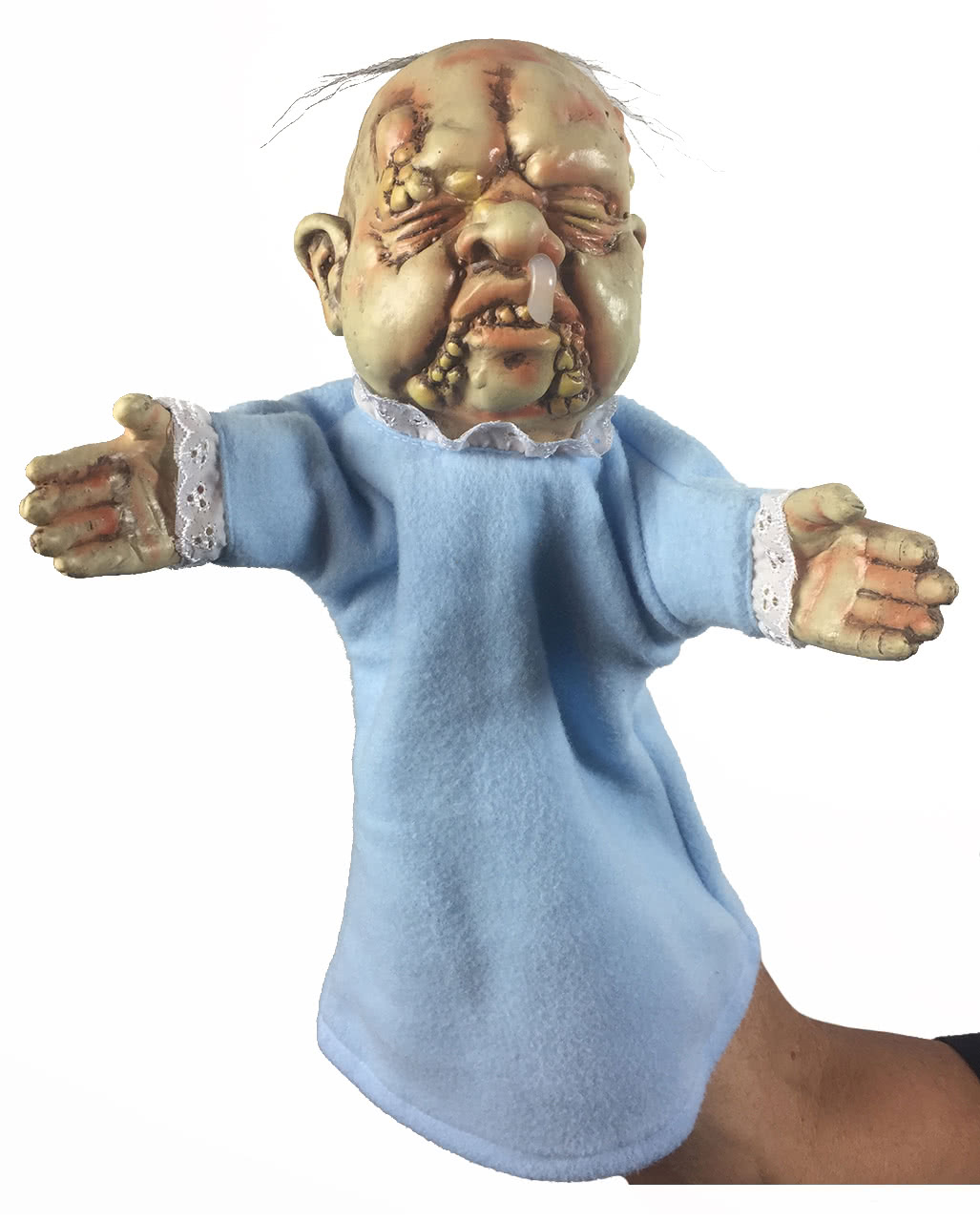 Halloween Decorations You Can Make At Home Baby Stinky Hand Puppet Halloween Amp Horror Hand Puppet