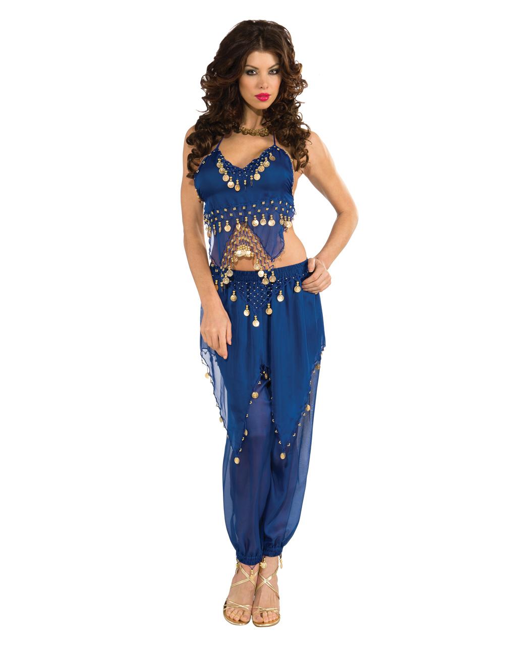 Orient Bauchtanzerin Kostum Blau Fur Karneval Karneval Universe