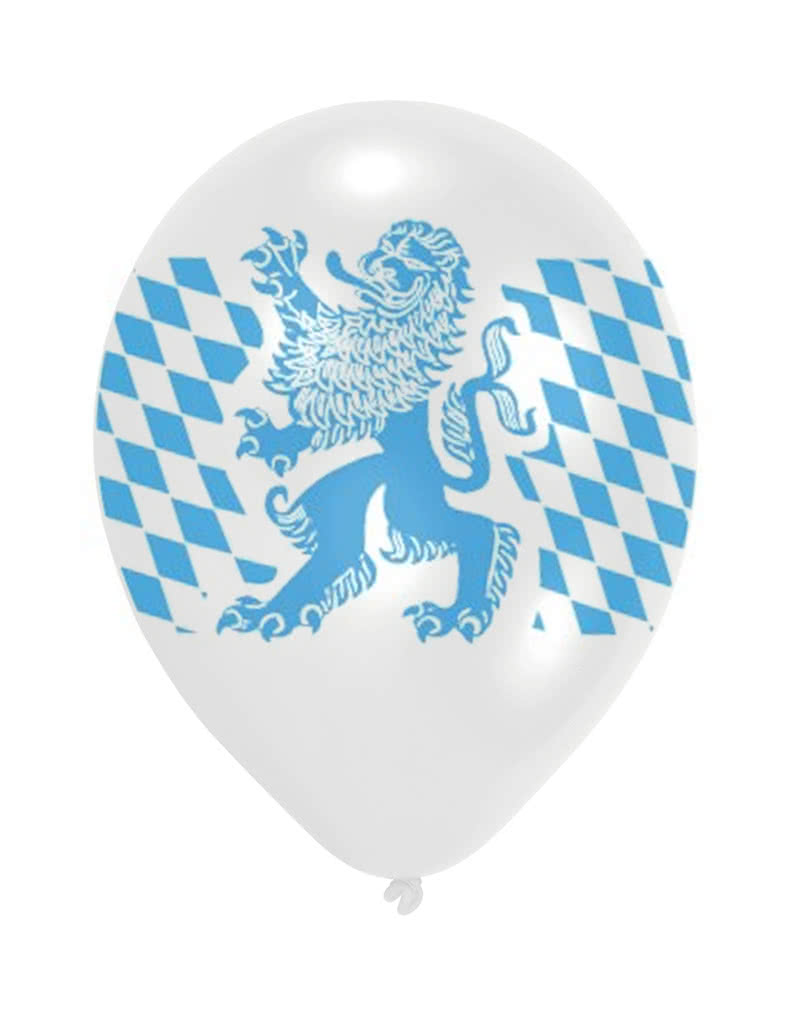 bayern rauten luft ballon 10 st ck oktoberfest. Black Bedroom Furniture Sets. Home Design Ideas