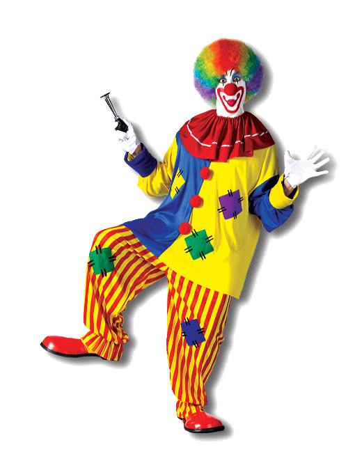 big top clown kost m f r fasching halloween karneval universe. Black Bedroom Furniture Sets. Home Design Ideas