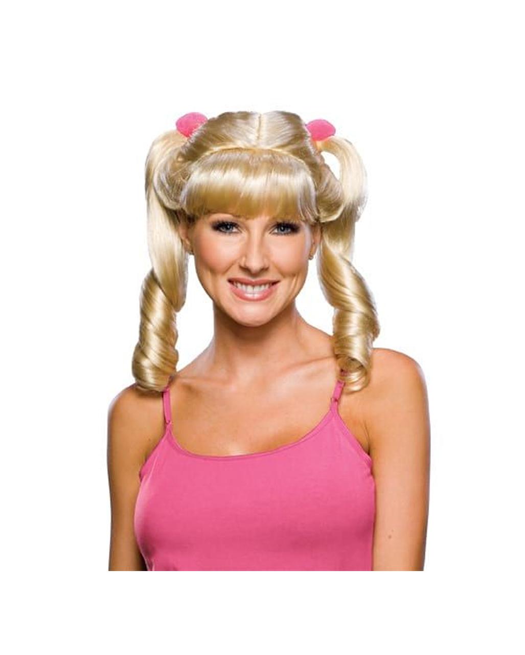 cheerleader per cke blond blonde zopfper cken g nstig. Black Bedroom Furniture Sets. Home Design Ideas