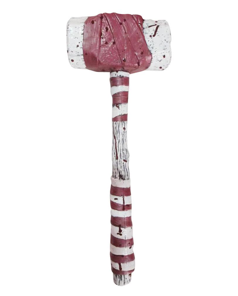 bloody zirkus clown hammer faschingskost m accessoire karneval universe. Black Bedroom Furniture Sets. Home Design Ideas