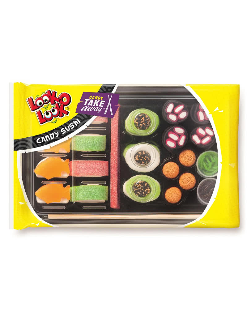candy sushi mit fruchtgummi ausgefallene s igkeiten kaufen karneval universe. Black Bedroom Furniture Sets. Home Design Ideas
