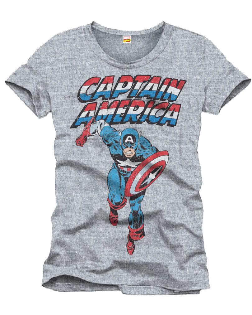 captain america m nner t shirt offizielles avengers. Black Bedroom Furniture Sets. Home Design Ideas