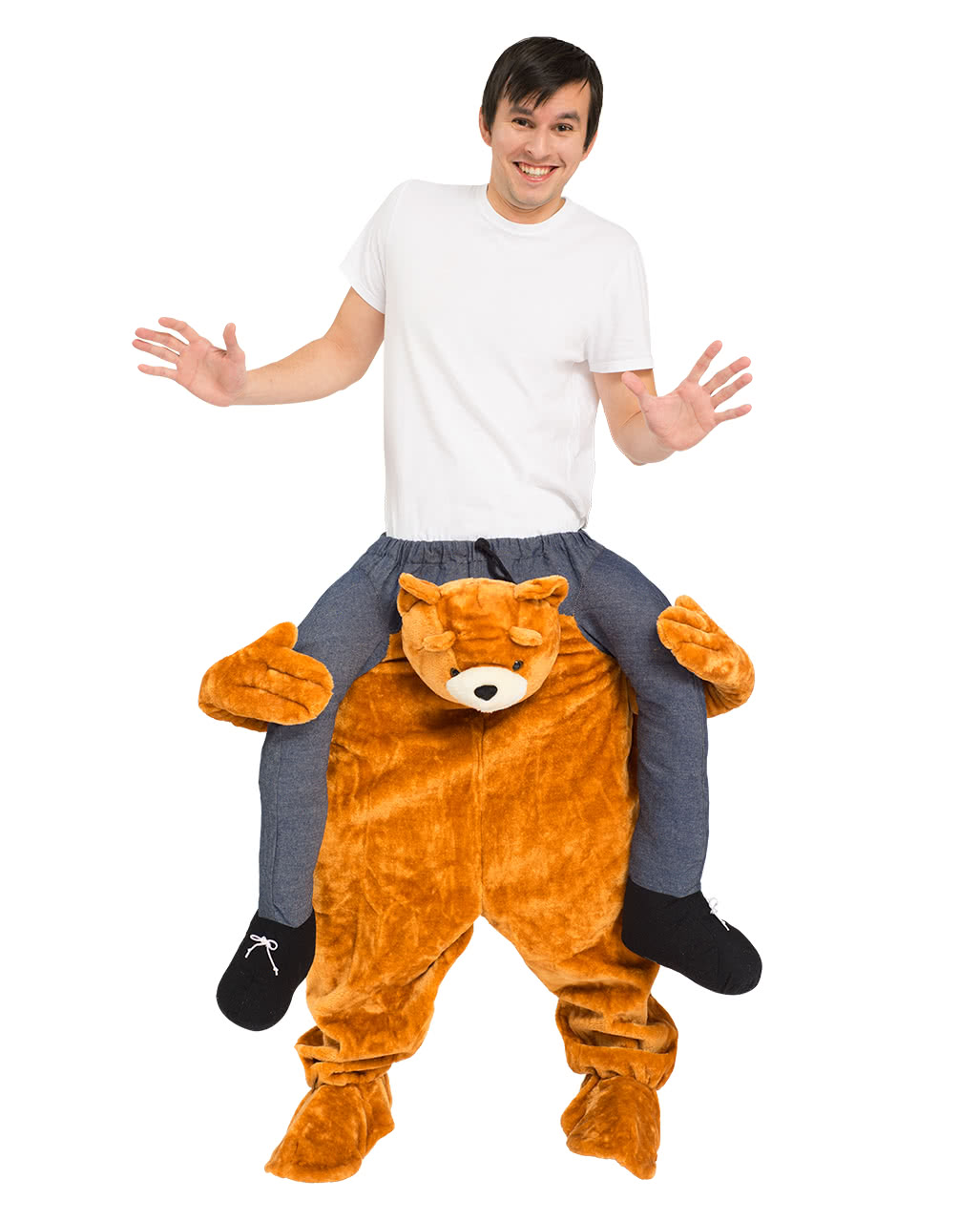 teddy b r huckepack kost m f r fasching karneval universe. Black Bedroom Furniture Sets. Home Design Ideas