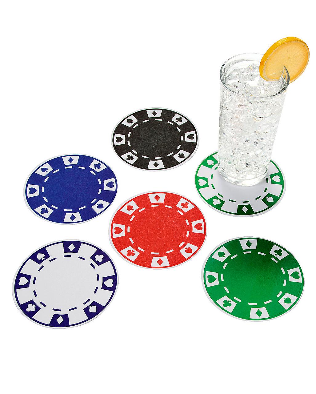 Casino Mottoparty Zubehör und Accessoires
