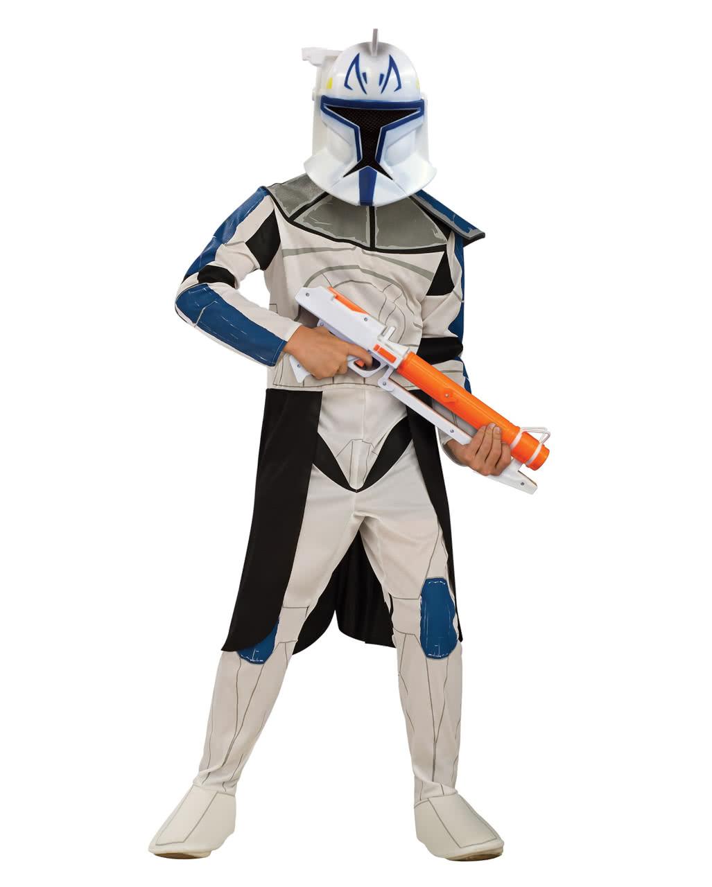 clone trooper kinderkost m captain rex karneval universe. Black Bedroom Furniture Sets. Home Design Ideas