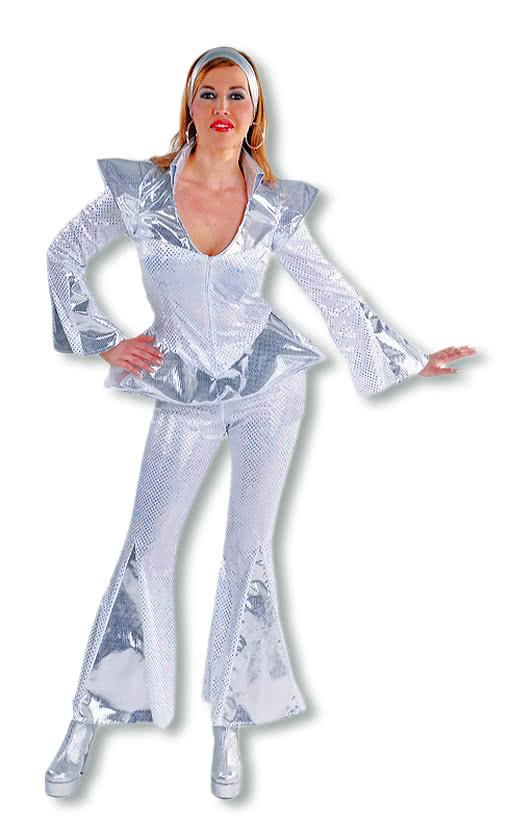 dancing queen frauen kost m disco disco queen outfit. Black Bedroom Furniture Sets. Home Design Ideas