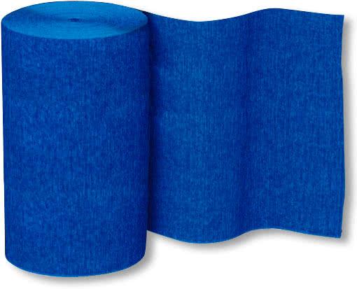 deko krepp band blau party dekor karneval universe. Black Bedroom Furniture Sets. Home Design Ideas