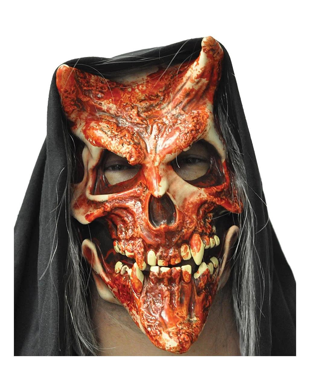 devil whispers teufels maske f r halloween karneval universe. Black Bedroom Furniture Sets. Home Design Ideas