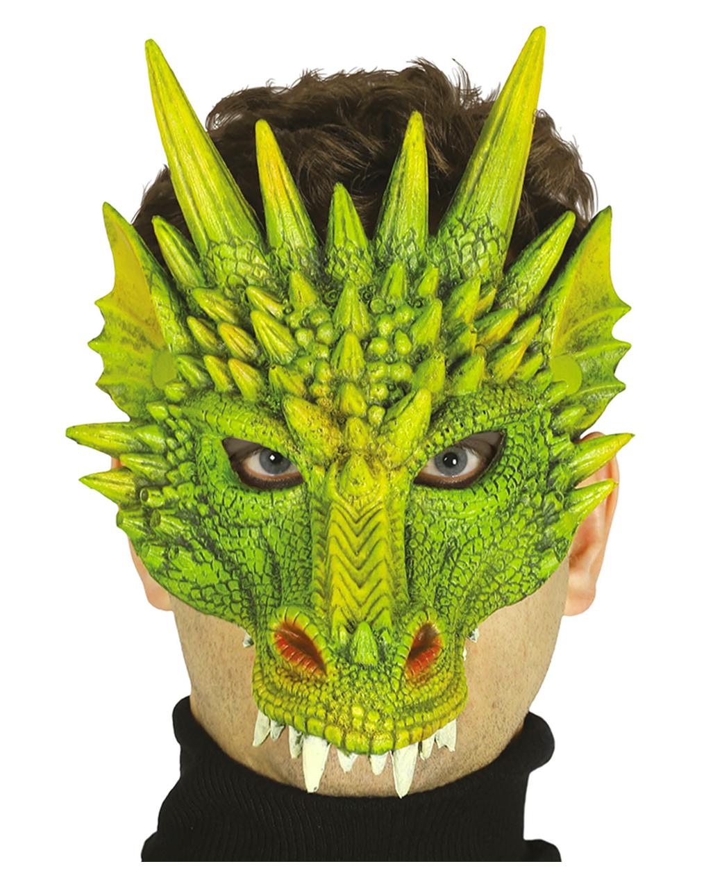 Halbmaske Drache Faschingsmaske Karneval Universe