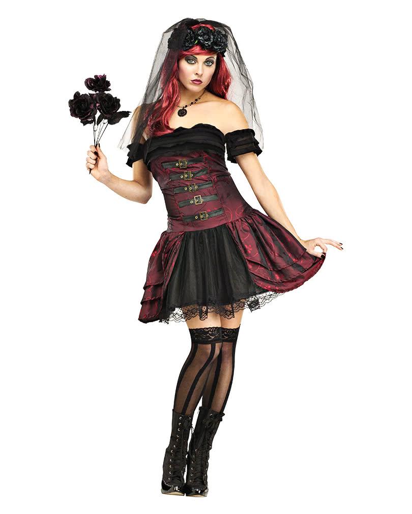 gothic vampirbraut kost m hochzetiskleid der vampirin. Black Bedroom Furniture Sets. Home Design Ideas