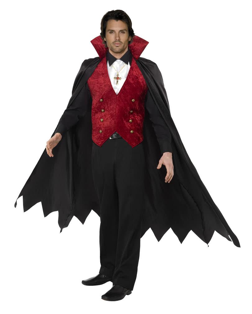 vampir kost m f r m nner stilvolles dracula kost m karneval universe. Black Bedroom Furniture Sets. Home Design Ideas