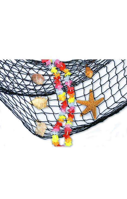 muscheln mit fischernetz anglerzubeh r hafen dekoration karneval universe. Black Bedroom Furniture Sets. Home Design Ideas