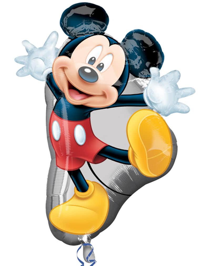Helium Ballon mit Micky Maus Motiv