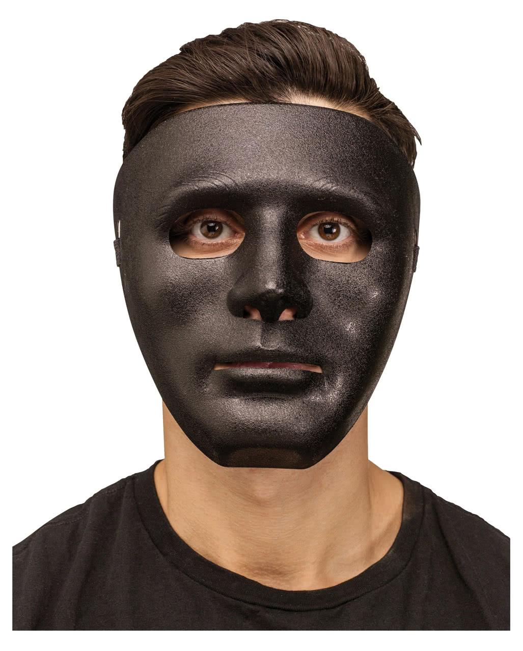 schwarze gesichtsmaske faschings maske karneval universe. Black Bedroom Furniture Sets. Home Design Ideas