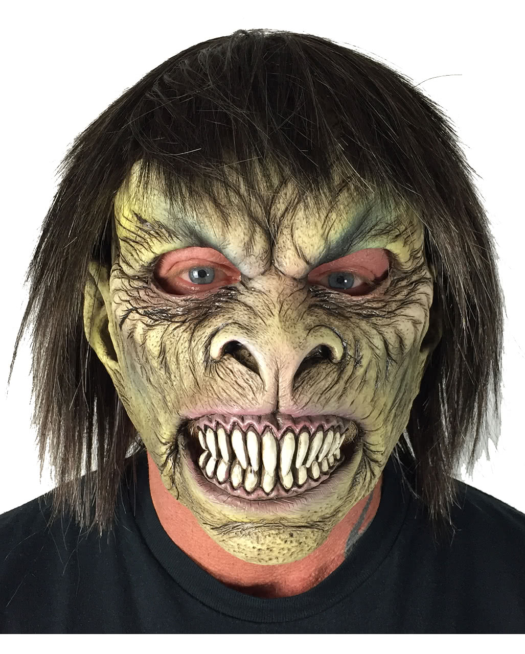 Halloween Fastnacht Zombiemaske mit beweglichem Mund Helloween Maske Verkleidung