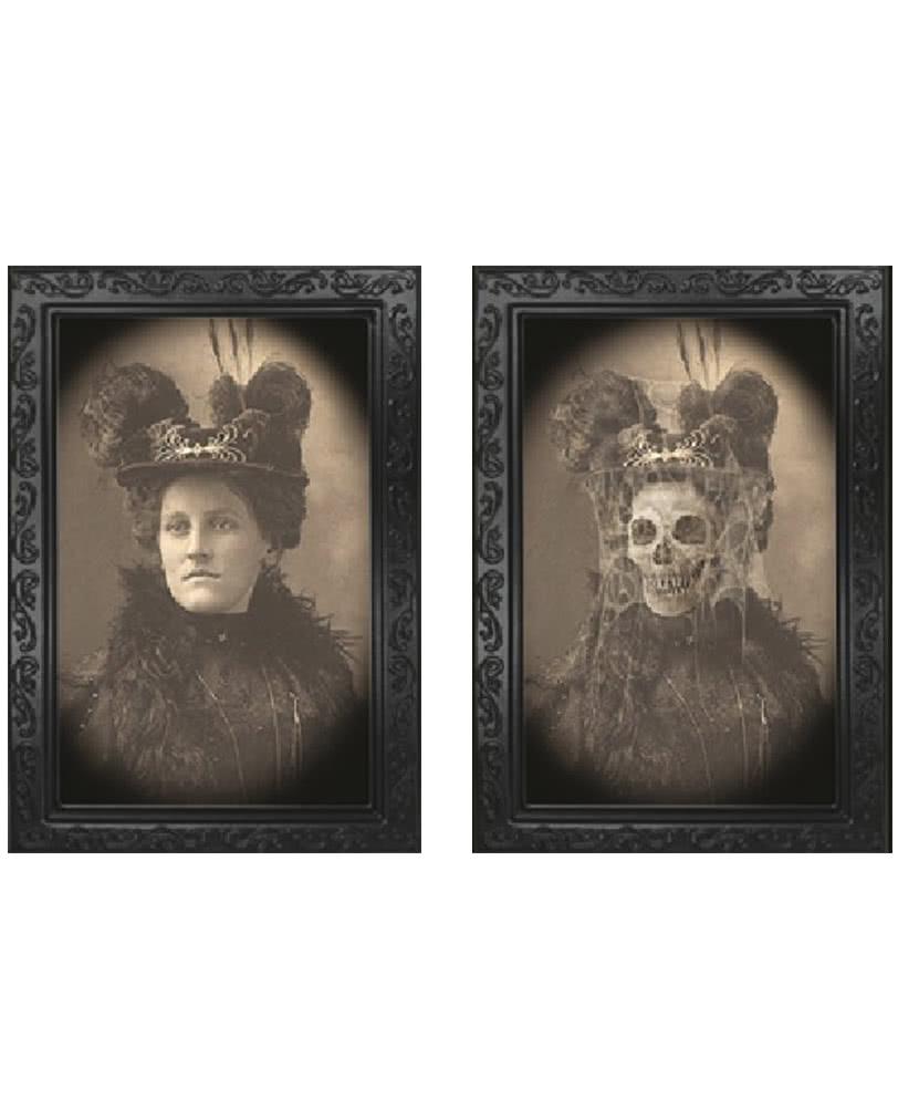 Wandelbild als Halloweendekoration Bild Wandeko Halloween Halloweendeko Party
