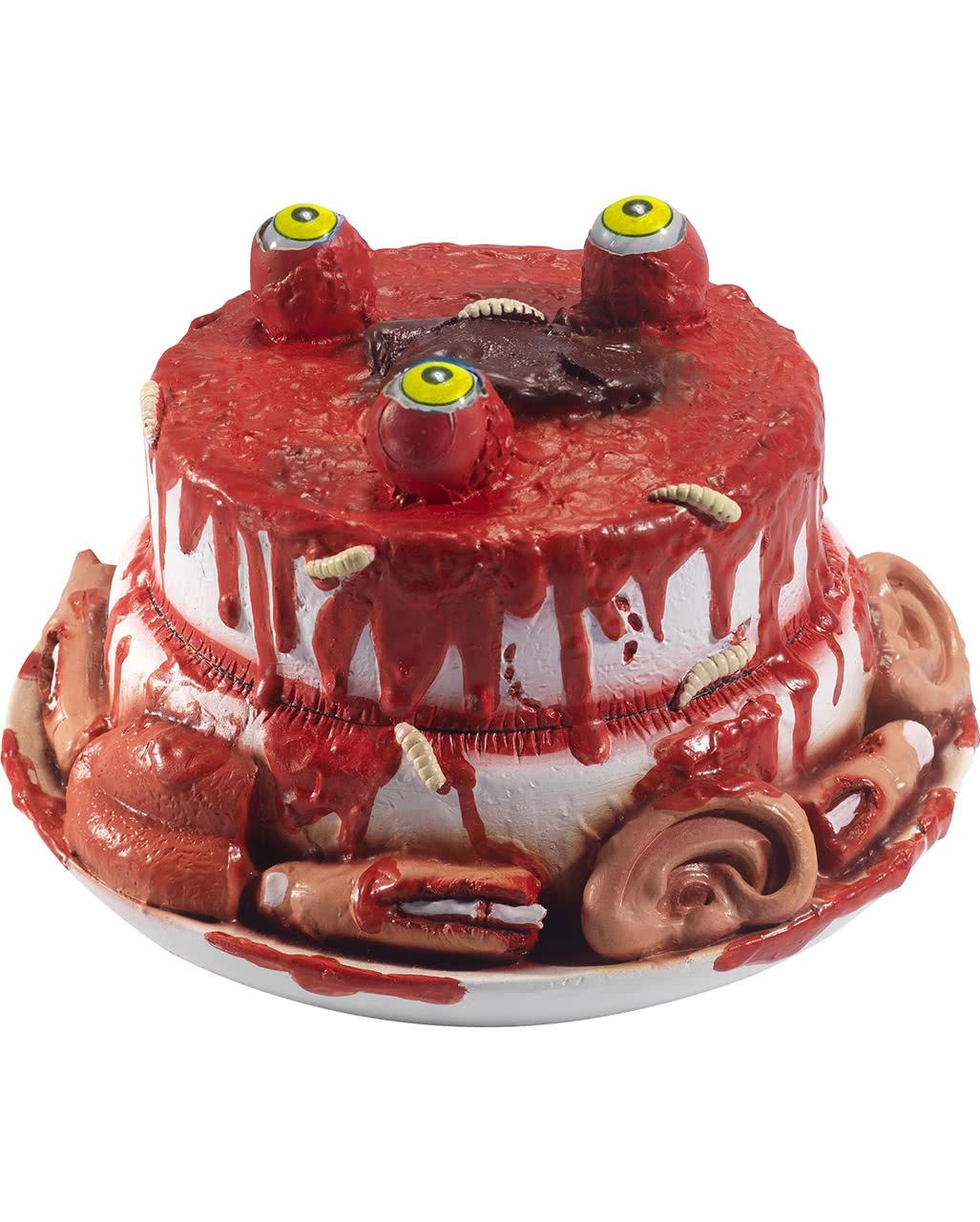 blutige zombie torte f r halloween karneval universe. Black Bedroom Furniture Sets. Home Design Ideas