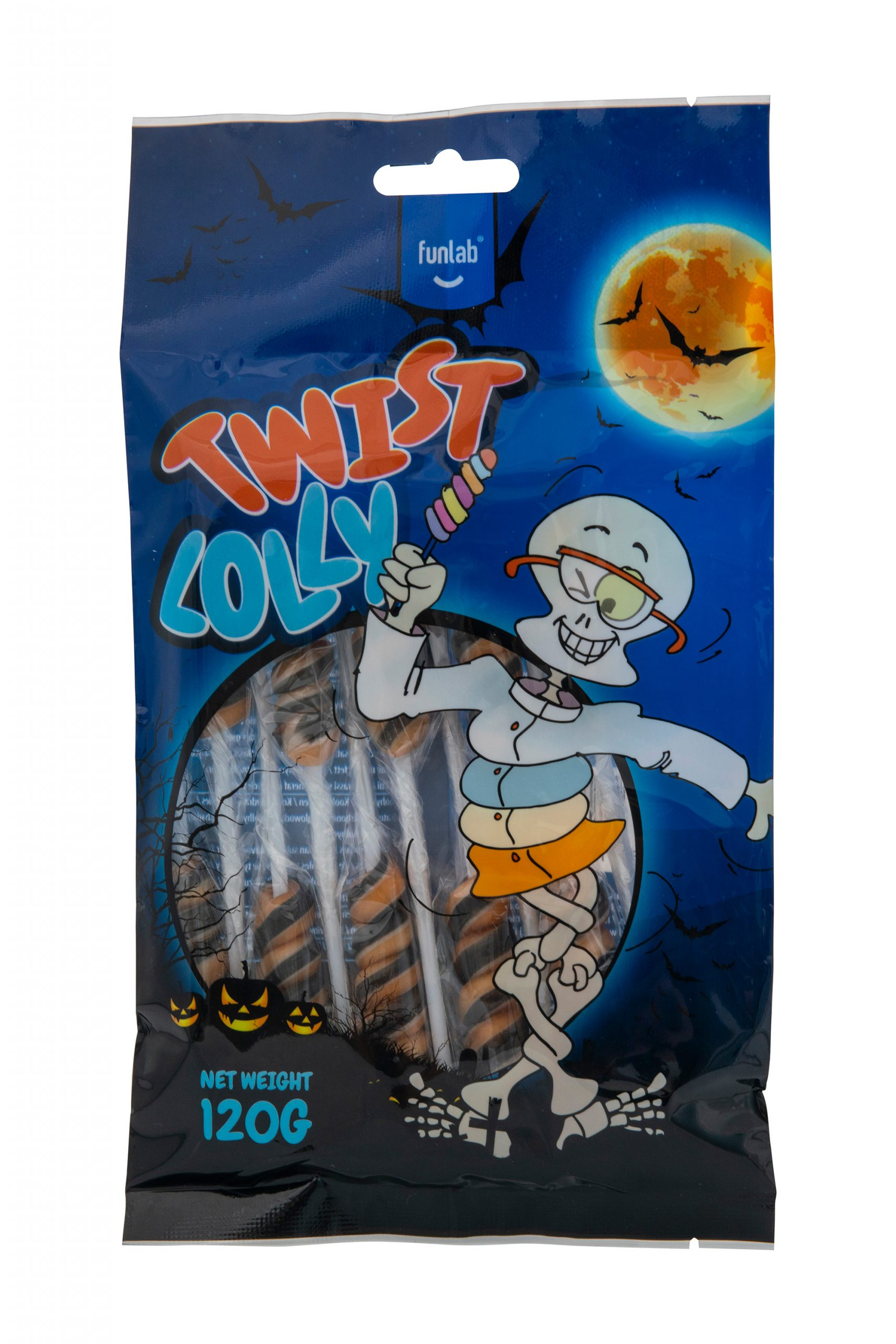 Halloween Twist Lutscher 10 St.