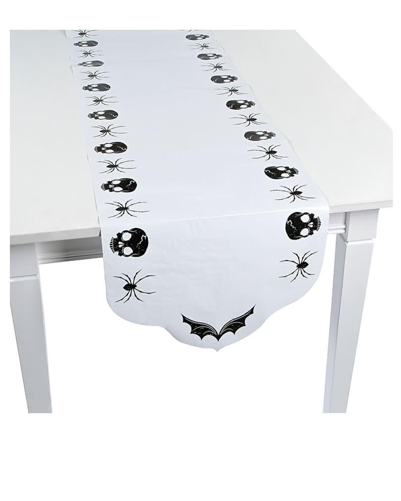 Halloween tischl ufer aus papier halloween - Tischdekoration halloween ...