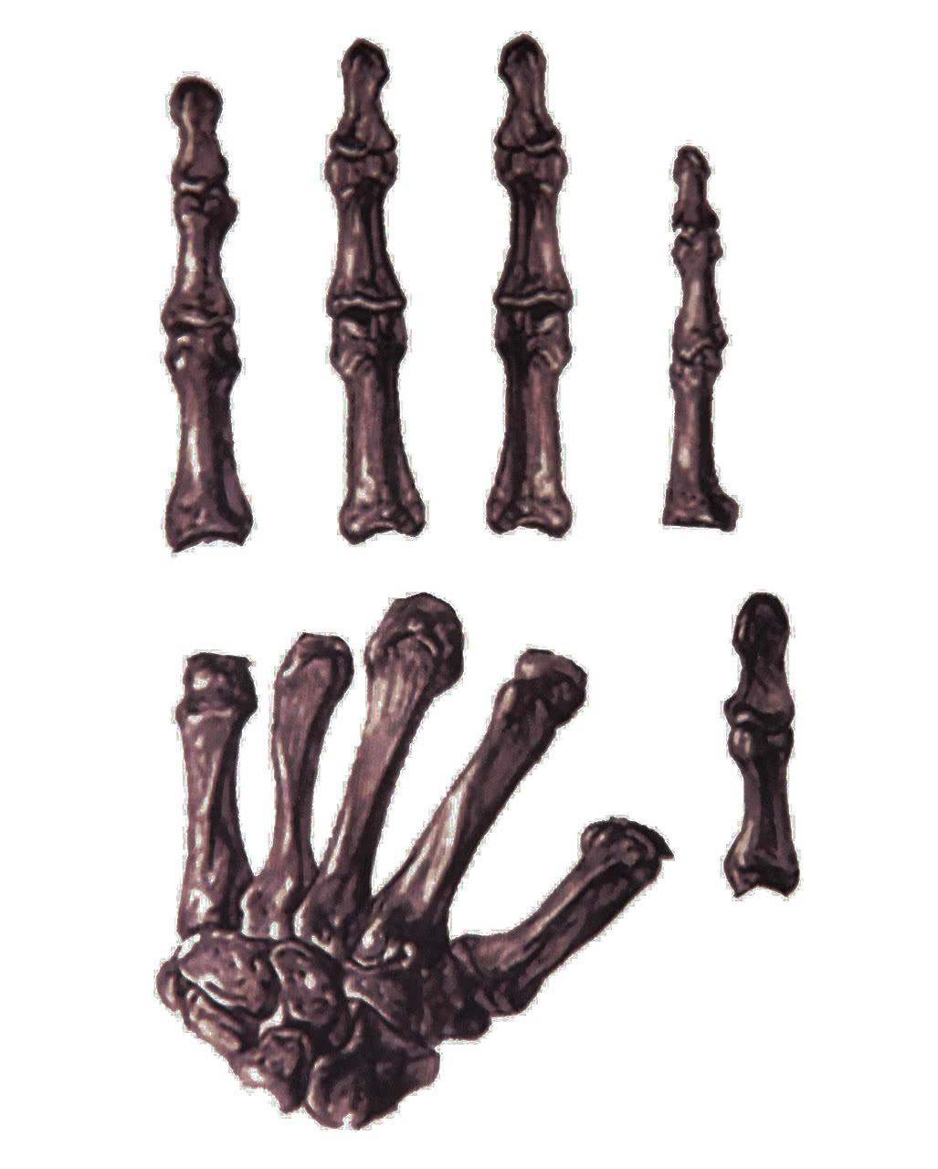 skelett handtattoo aufklebe tattoo f r karneval karneval universe. Black Bedroom Furniture Sets. Home Design Ideas