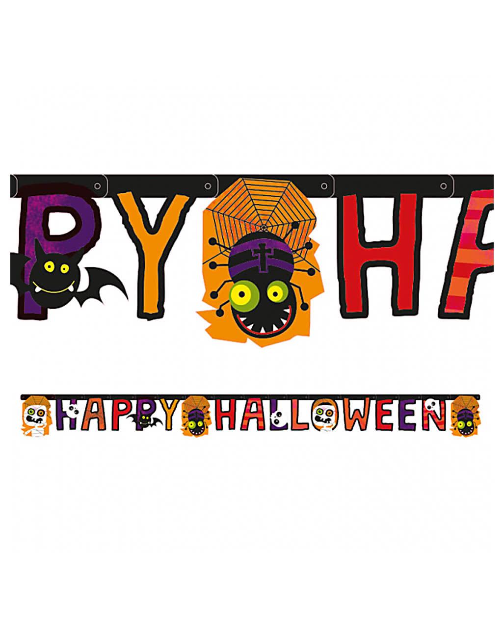 Halloween girlande 180 cm event deko karneval universe - Halloween girlande ...