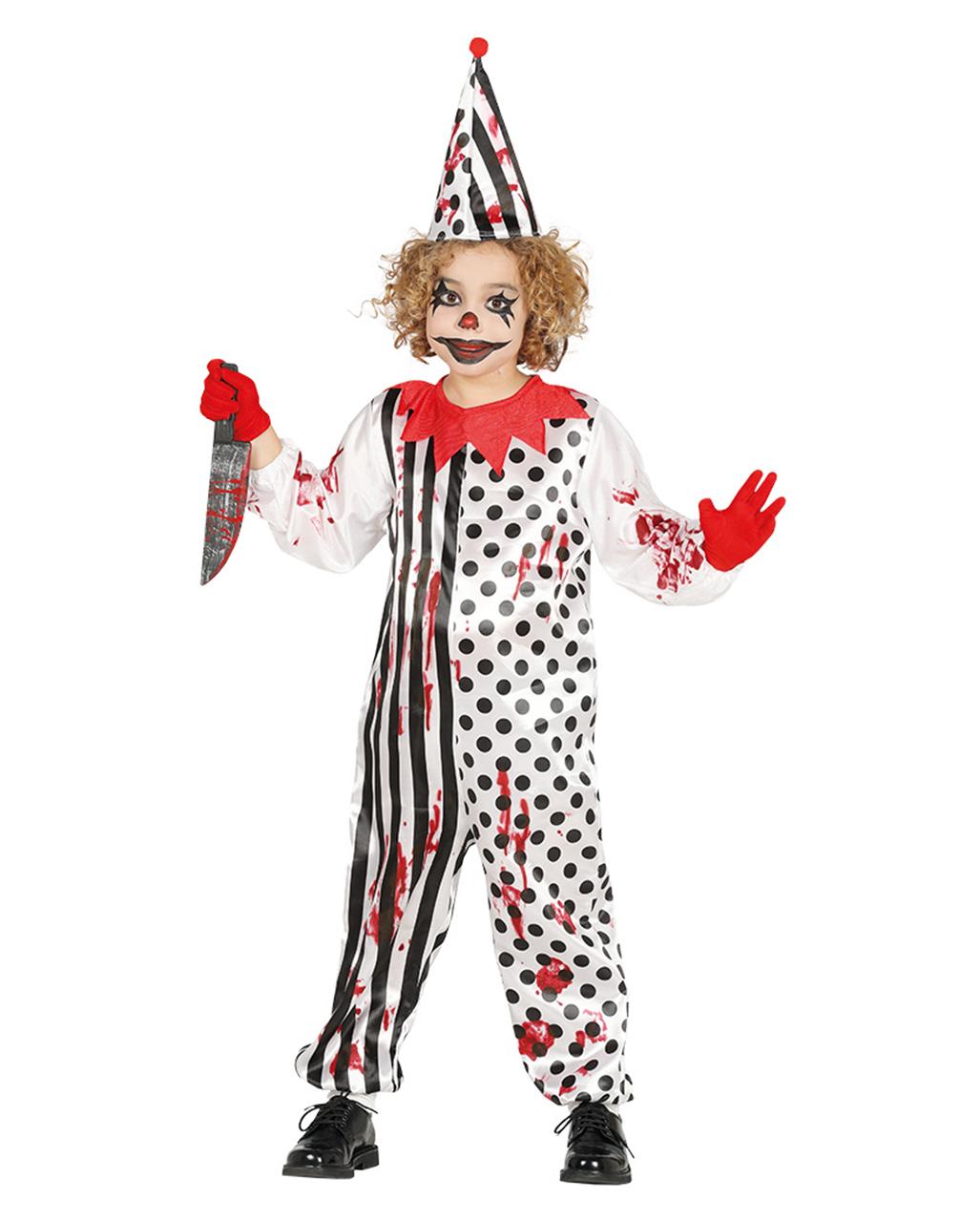 Killer Clown Kinderkostüm