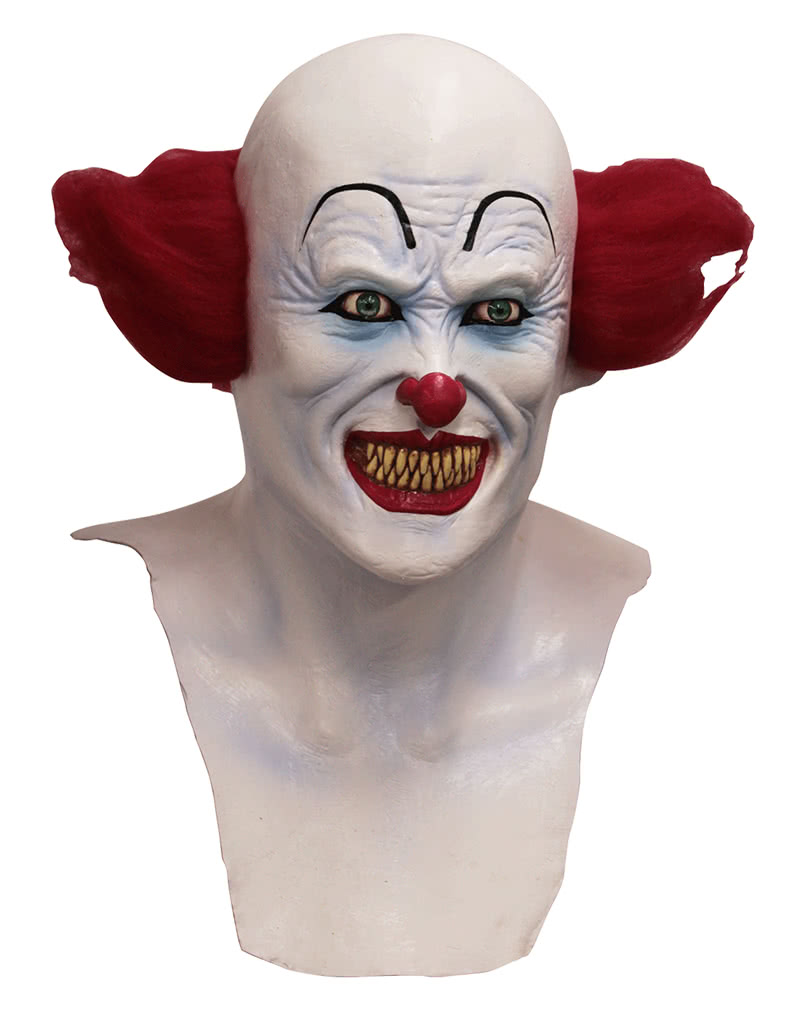 halloween clown maske mit brust horror maske karneval. Black Bedroom Furniture Sets. Home Design Ideas