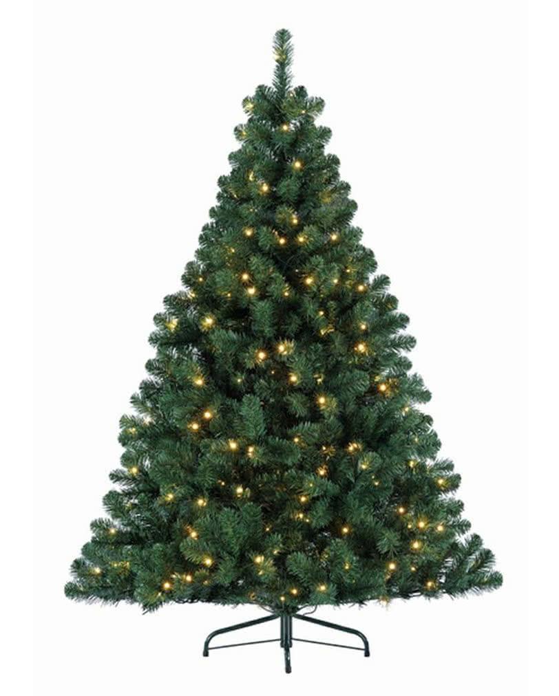 festlicher tannenbaum mit lichterkette 180 cm weihnachtlicher christbaum karneval universe. Black Bedroom Furniture Sets. Home Design Ideas