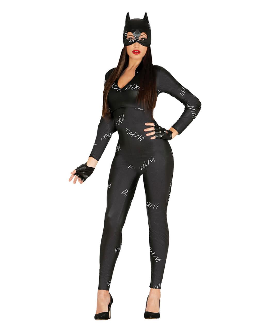katzen catsuit frauenkost m katzenlady kost m online kaufen karneval universe. Black Bedroom Furniture Sets. Home Design Ideas
